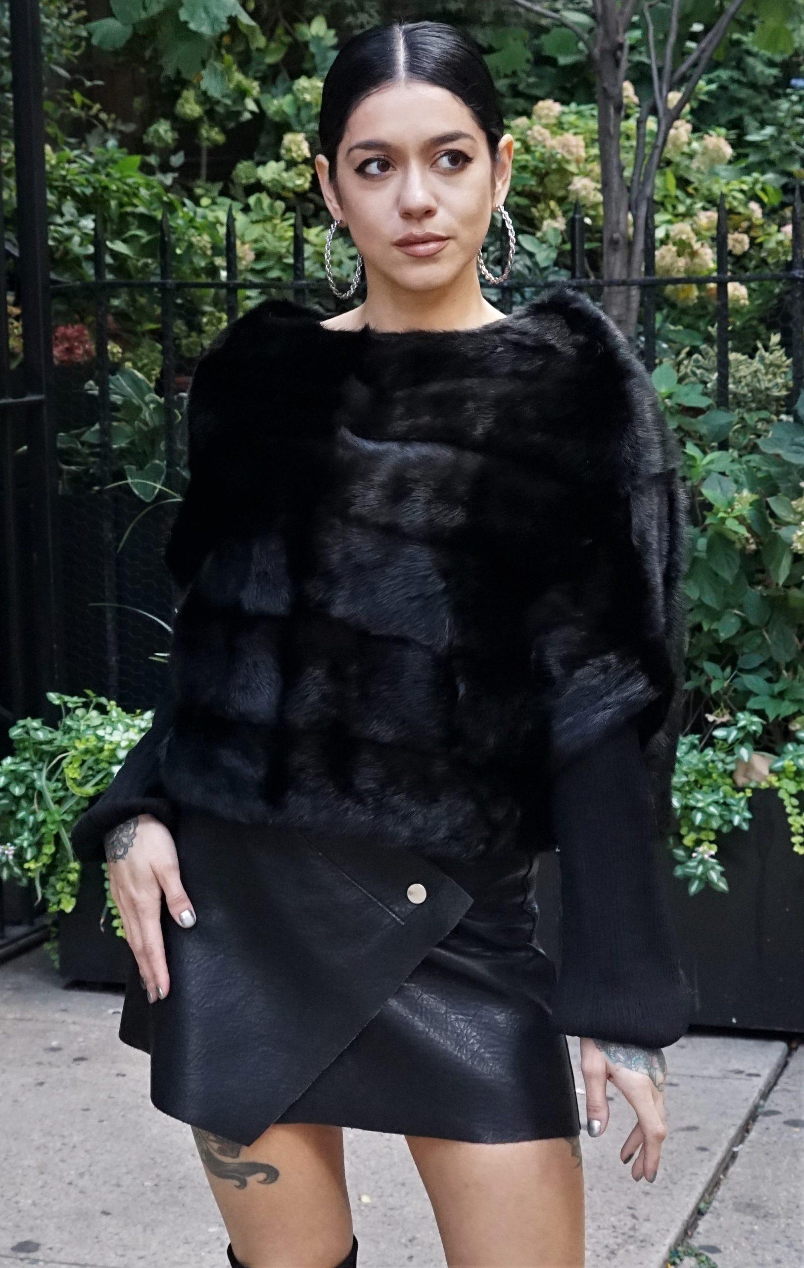 Pullover Mink Jacket