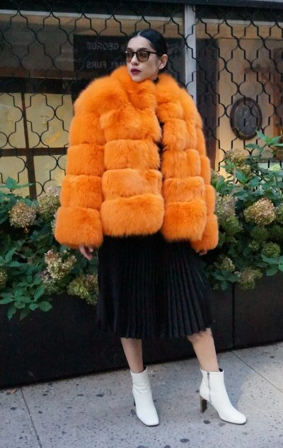 ORANGE FOX JACKET