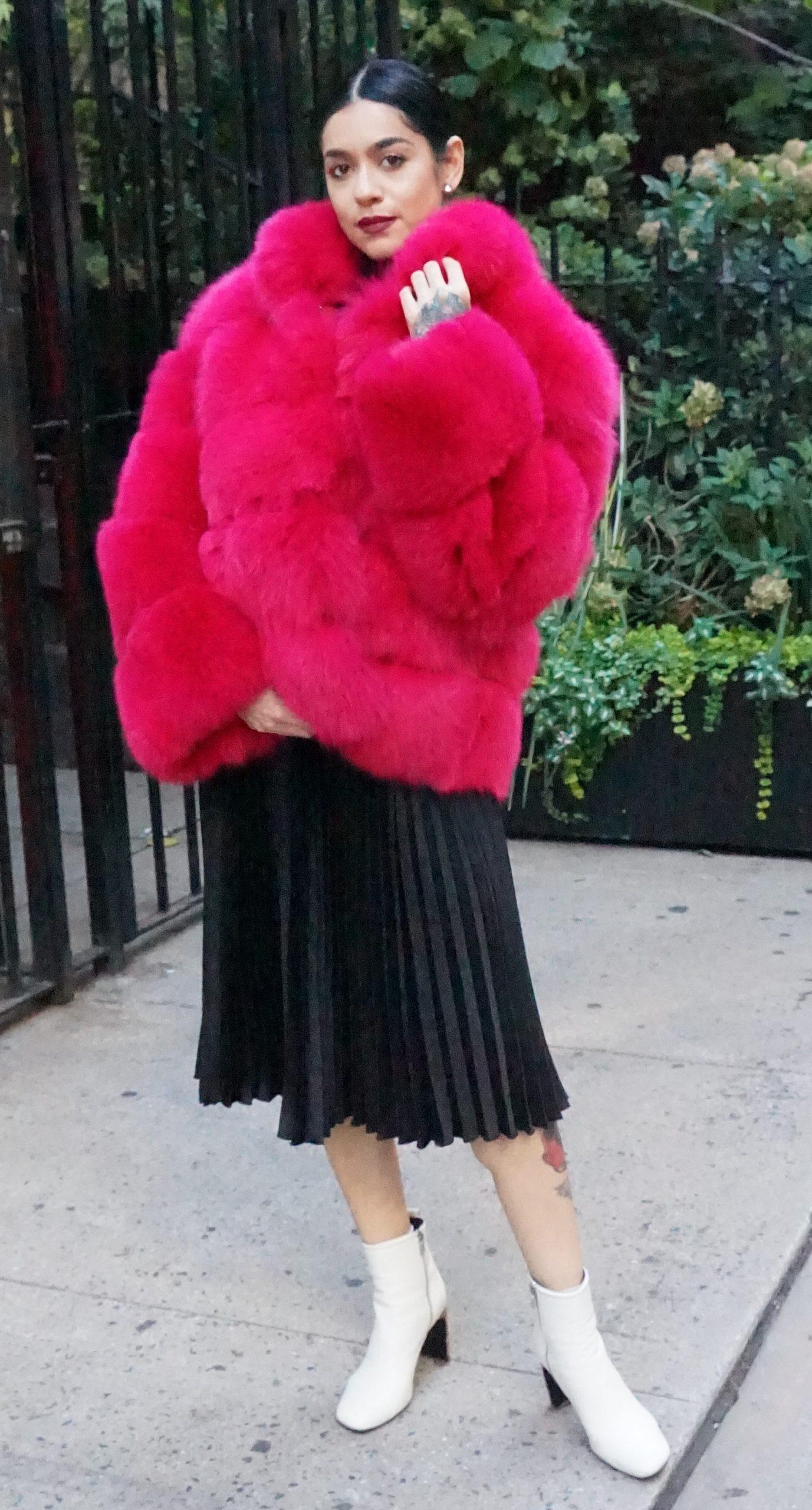 Fuchsia Fox Jacket