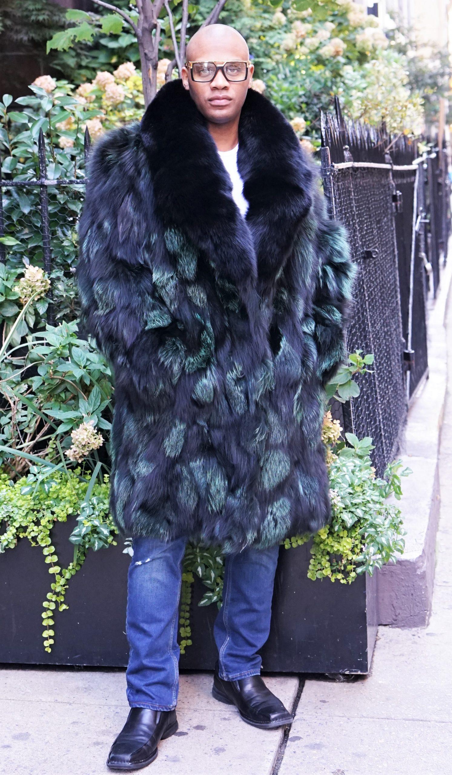Men's Money Green and Black Fox Stroller