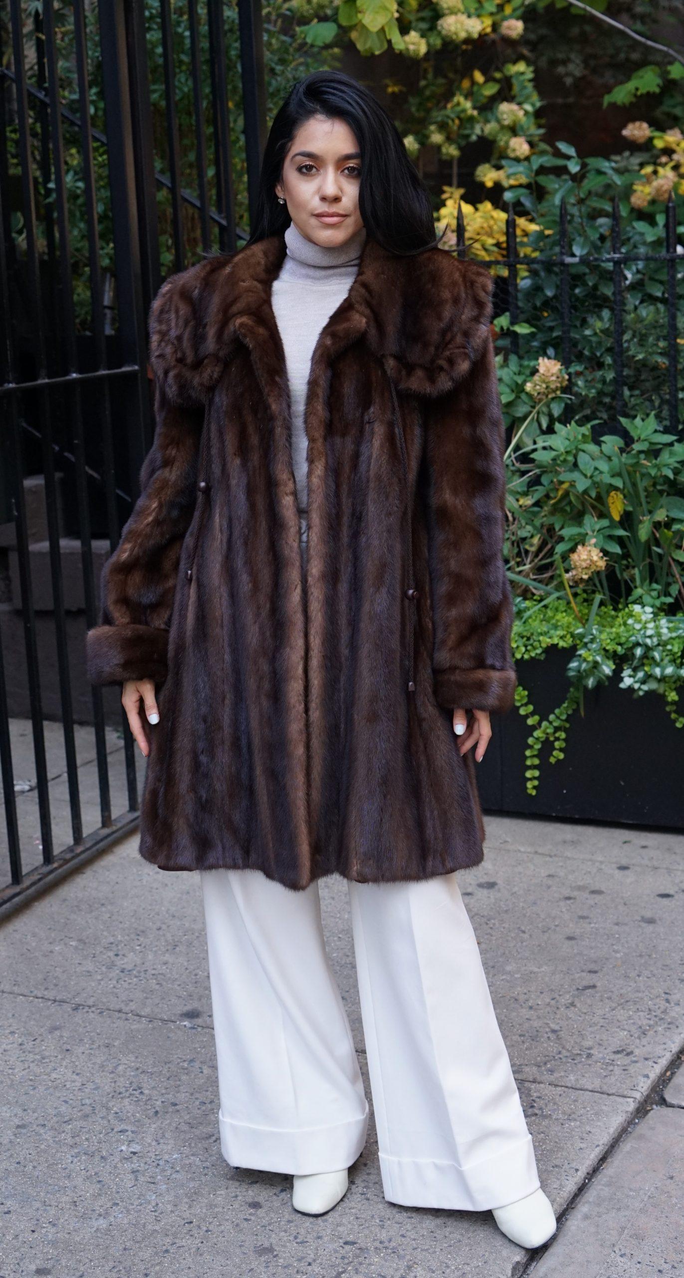 Mink dream fur coats
