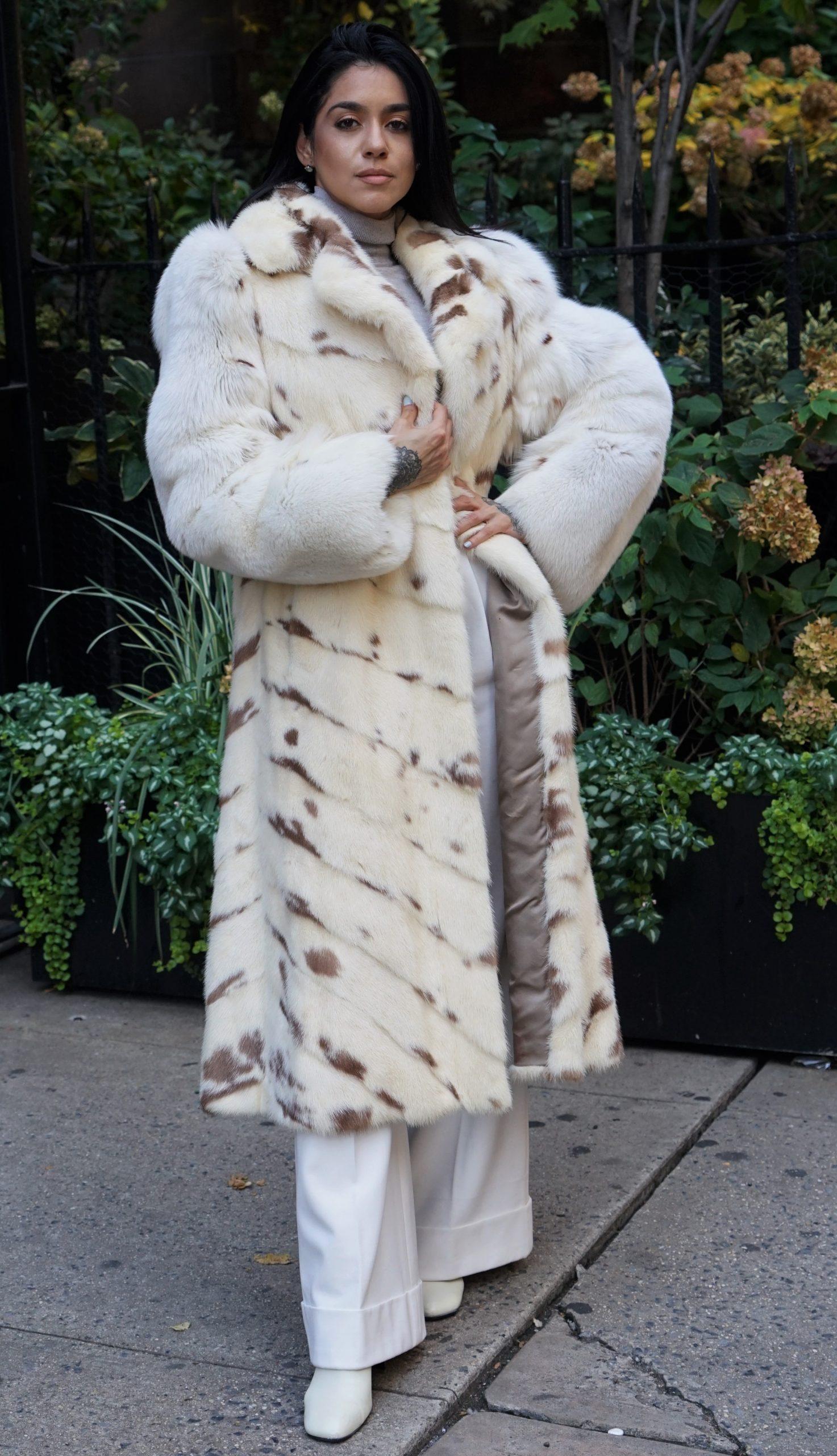 designer fox coats