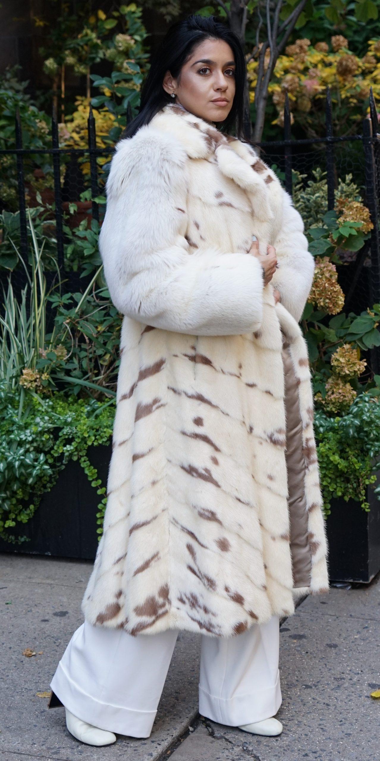 Designer Mink coats