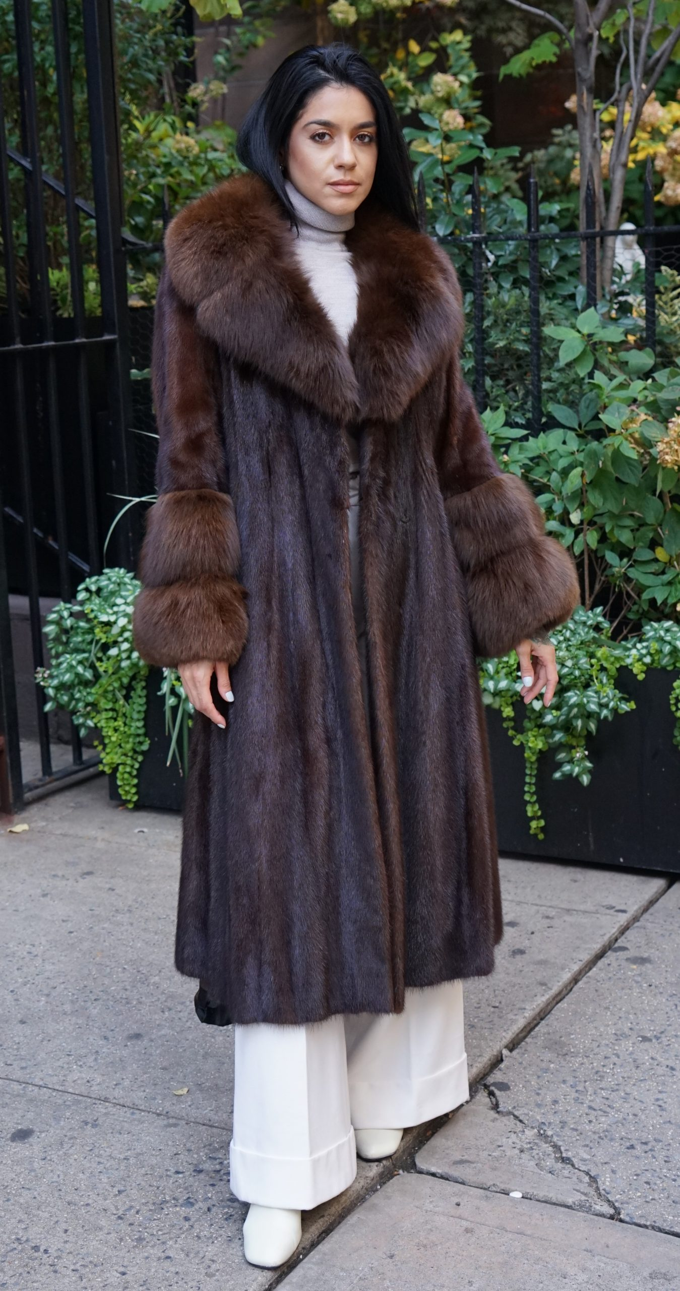 shopping mink fur coats