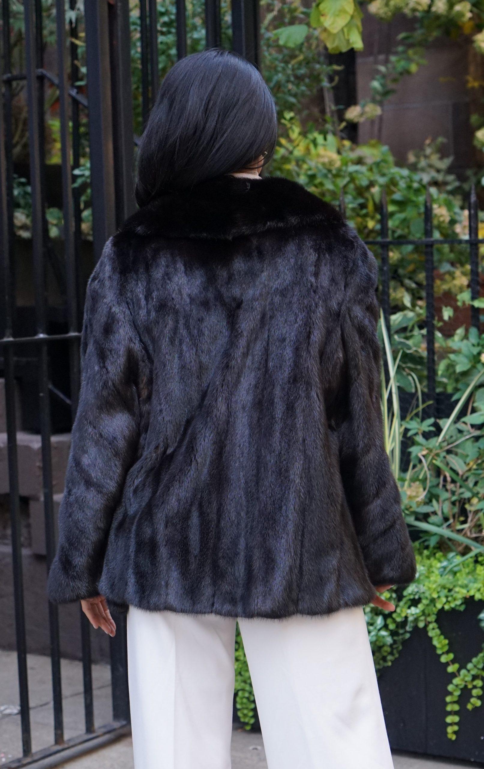 luxury mink fur jackets