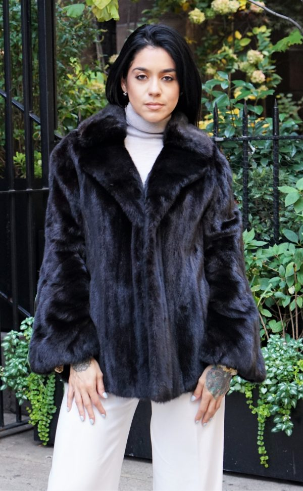 Pre-Owned Ranch Mink Jacket