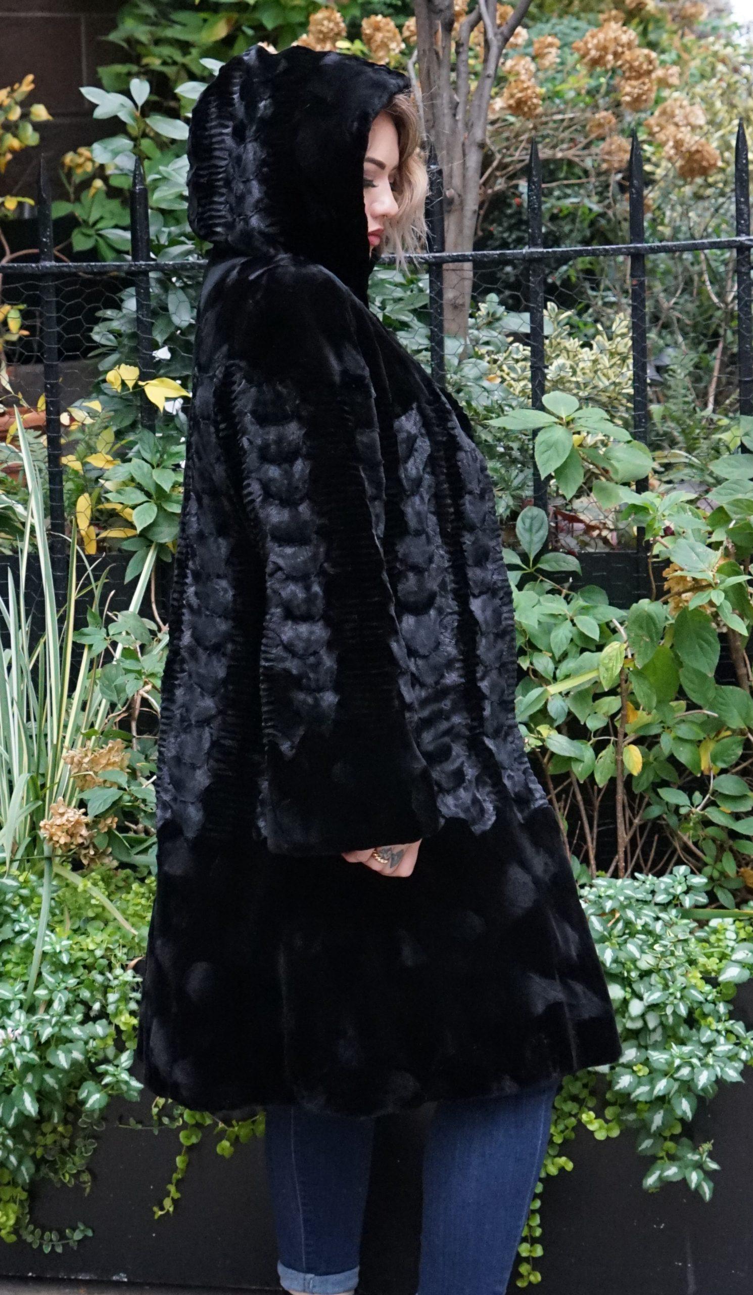 fur coat for woman