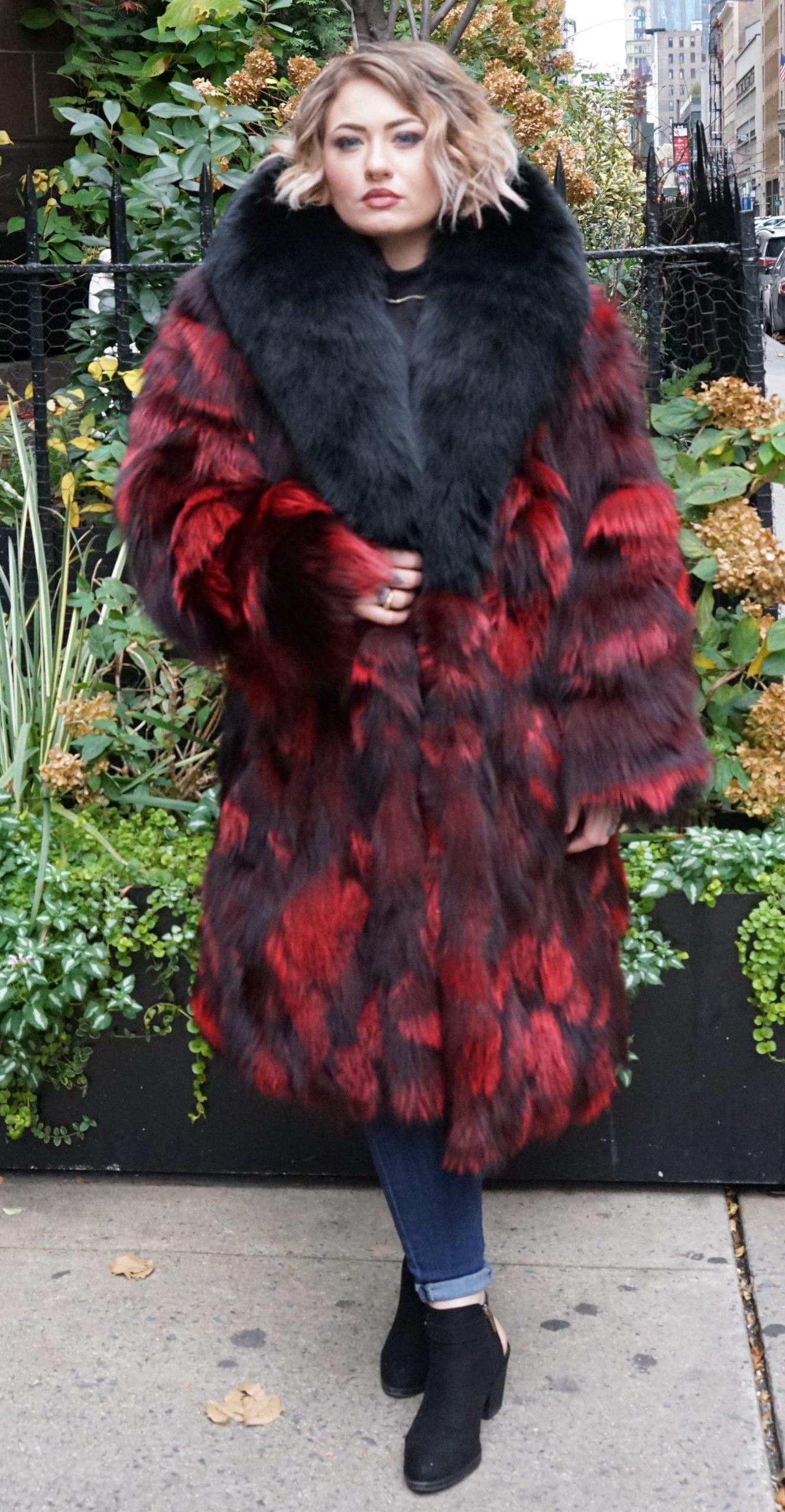Plus Size Burgundy Fox Stroller