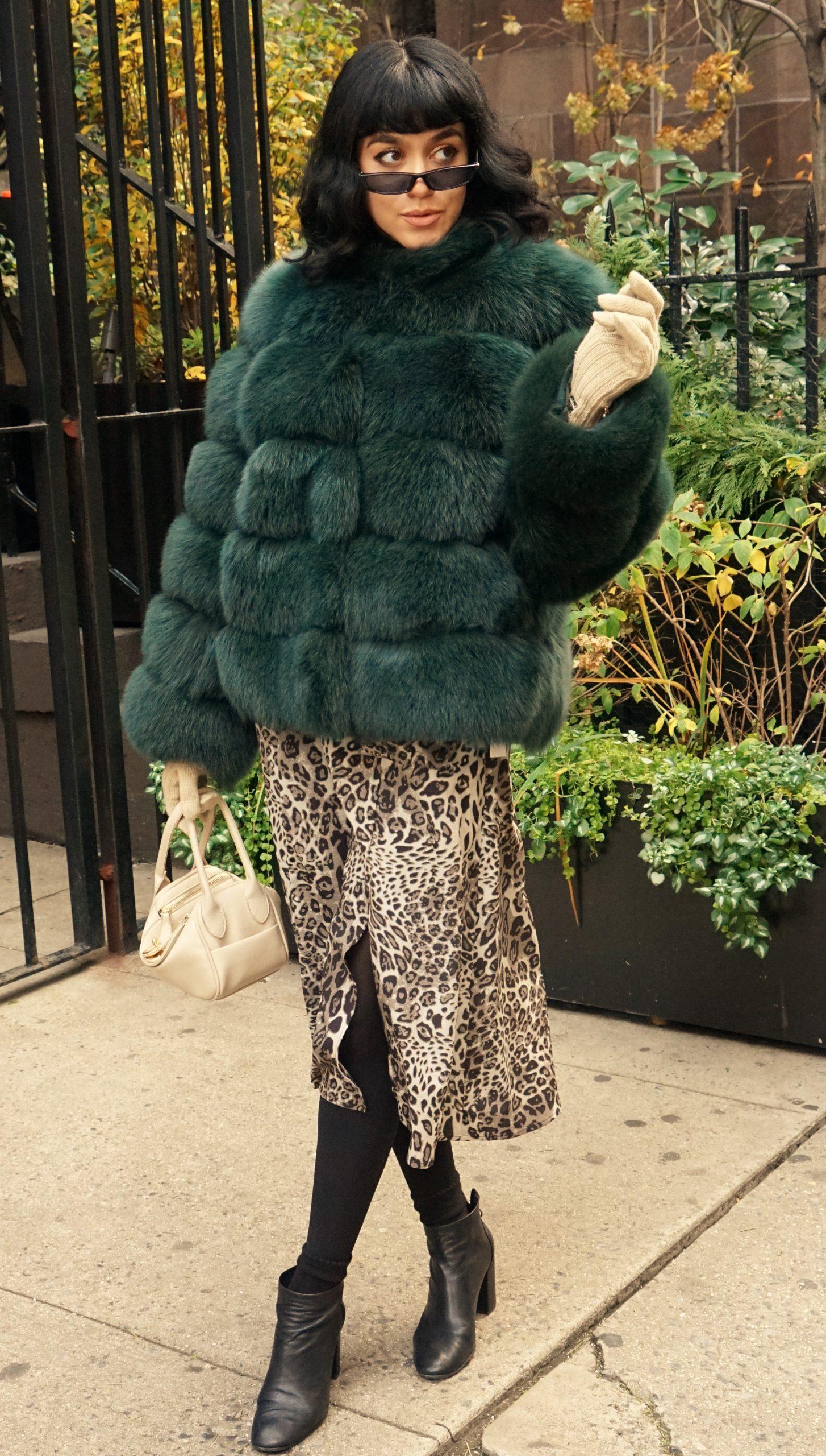horizontal green fox jacket