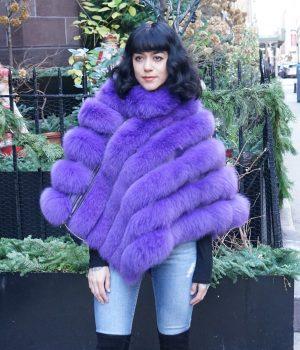 Fox Poncho Furs