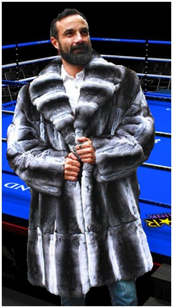 Men's Chinchilla Coat