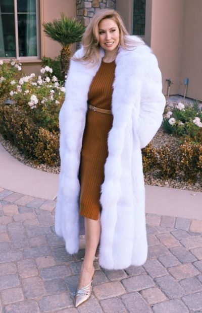 White Fox Coat
