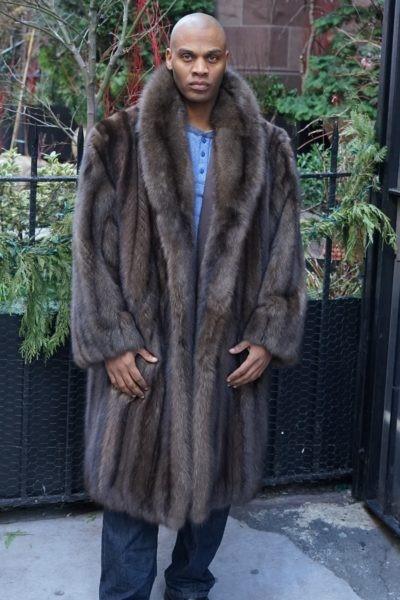 Men's Russian Sable Coat