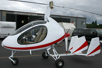 Sportscopter travel