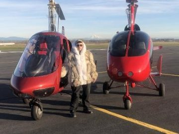 Sportcopter Fur Coat