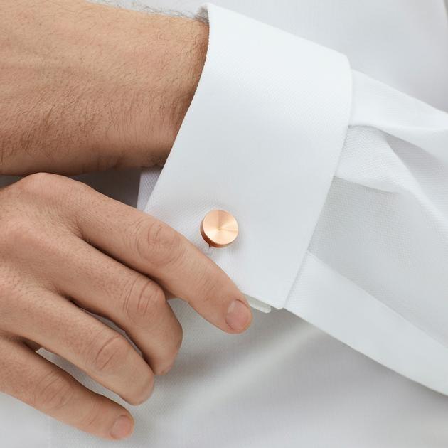 Alexander Copper Cufflinks